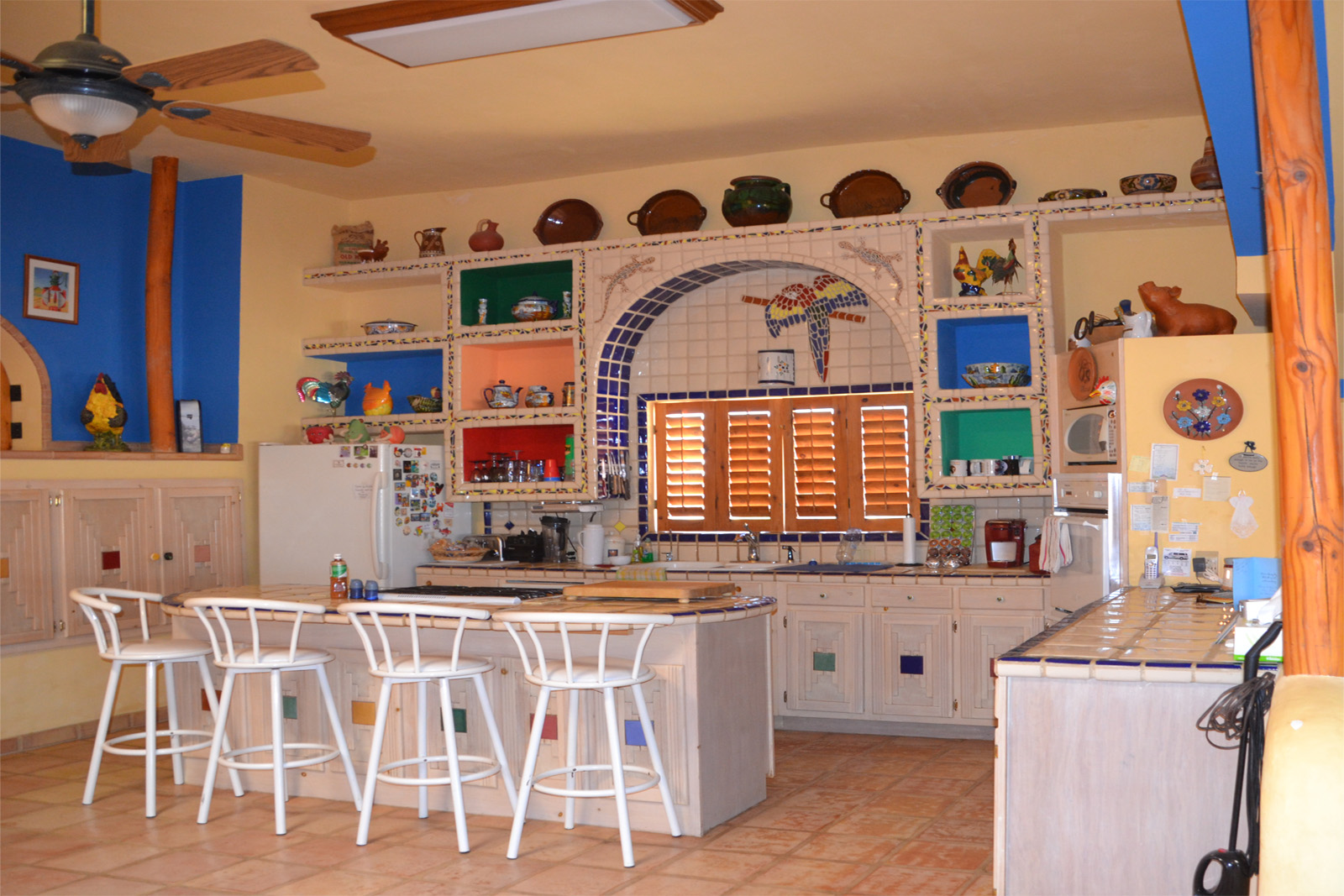 Rocky Point Hostel's Kitchen